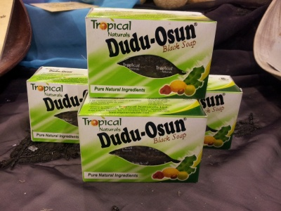 DUDU OSUN BLACK SOAP (150 gr)